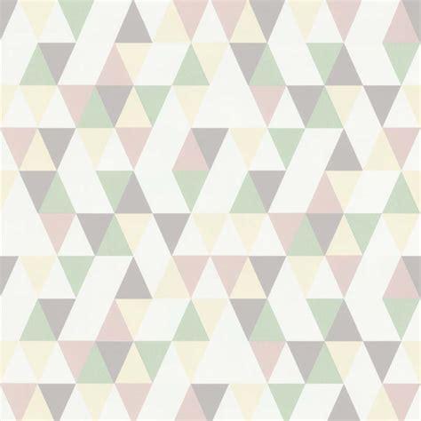 papier peint triangle hej jaune clair 218185 de la