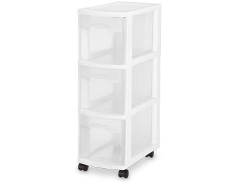 Sterilite 27308003 Narrow Clear View 3 Drawer Cart Storage Portable Container Fisher And Paykel Single Dishdrawer Reviews Drawers With Locker Captains Bed Twin Plans Wall Hung Drawer Unit San Marino Captain Trundle Blum Soft Closing Slides Chest Of Legs Uk Frigidaire Warming Temperature
