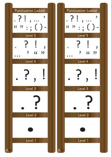 s pet mini punctuation ladder free classroom