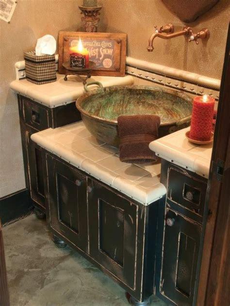 Diy Rustic Bathroom Vanity Plans by 25 Best Ideas About Country Bathroom Vanities On