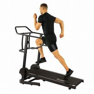 Force Fitmill Manual Treadmill W   High Weight Capacity