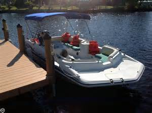 Hurricane Deck 201 by 2001 Used Hurricane Deck Gs 201 Deck Boat For Sale