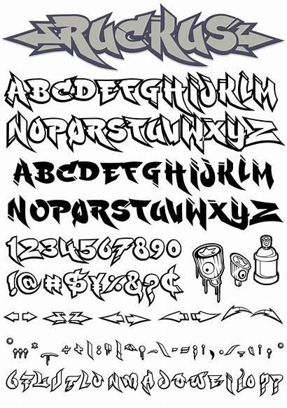 Ruckus Graffiti Fonts Font