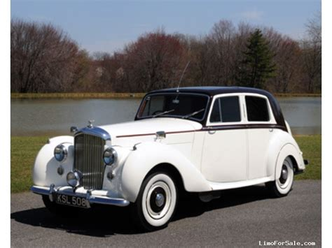 Classic Limo by Used 1951 Bentley R Type Antique Classic Limo Classic
