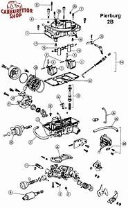 Pierburg 2b Carburetor Parts And Service Kits