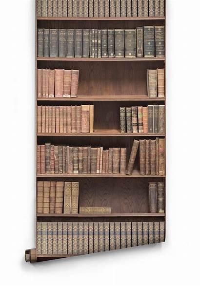 Bookshelf Faux Milton King Boutique Library Bookcase