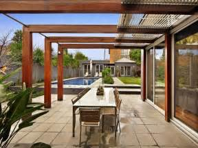 Alfresco Patio Photo by Outdoor Living Design With Pergola From A Real Australian