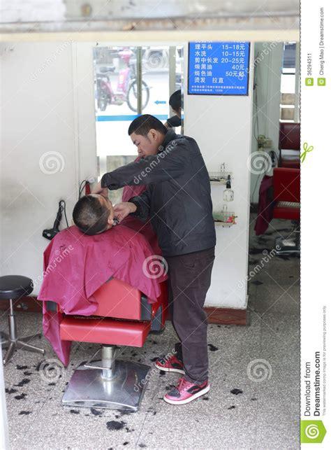 barber shop editorial photo image  customer barber