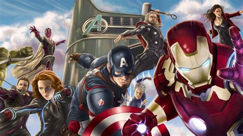 Marvel's Avengers Assemble Wallpapers - Wallpaper Cave