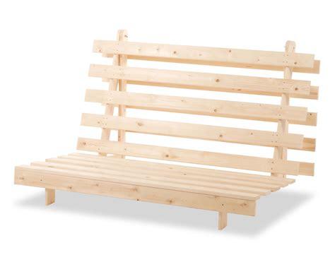 wood futon frame metro 1 seater 2 seater futon frame visco therapy
