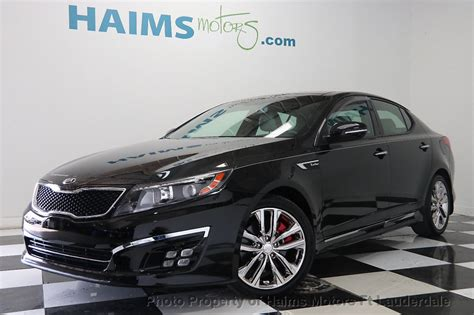 Kia Optima Mpg 2015 by 2015 Used Kia Optima 4dr Sedan Sxl Turbo At Haims Motors