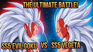 Dragon Ball Z (AF): Super Saiyan 5 Evil Goku VS Super ...