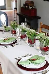 100, Beautiful, Christmas, Table, Decorations, From, Pinterest, U2013, Christmas, Photos