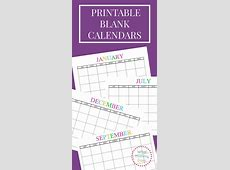 The 25+ best ideas about Blank Calendar Template on