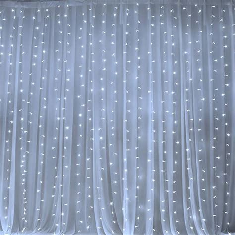 white backdrop with lights 600 sequential white led lights big wedding party