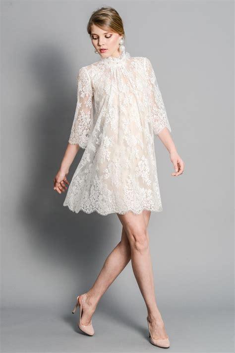 chantilly lace boho white dress lace