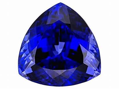 Tanzanite Jtv 65ct Trillion Gemstones 41mm Stone