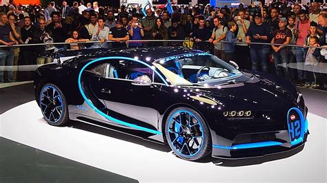 According to bugatti, the chiron can get from zero to 60 mph in just 2.3 seconds and is capable of top speeds of 261 mph. Bugatti Chiron, 2018 Farrari 812, Lamborghini and more!!! Frankfurt Auto Show 2017 (part 1-5 ...