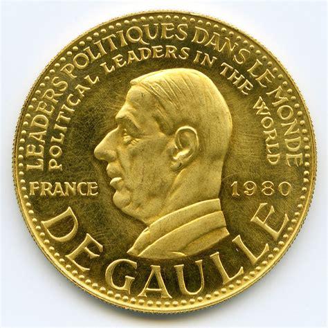 bureau de change dollar médaille charles de gaulle