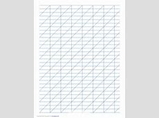 Calligraphy Practice Paper Free Download