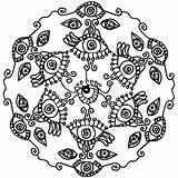 Coloring Eye Mandala Eyes London Spy Eyeball Pdf Tribal Printable Easter Getcolorings Getdrawings Seeing Colorings Human Button Using sketch template