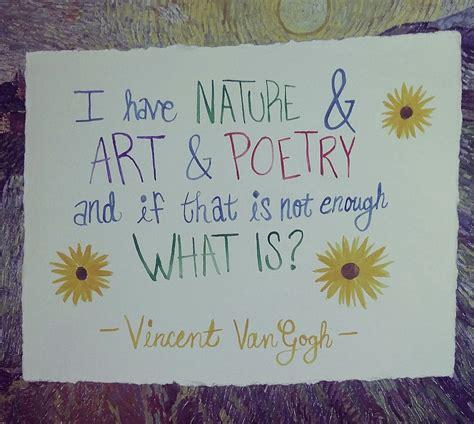 vincent van gogh quotes  art love nature