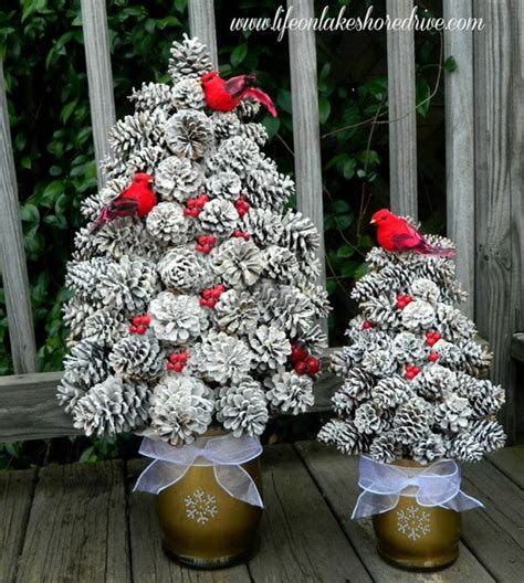 christmas cone decorations festive diy pine cone crafts for your decoration for creative juice