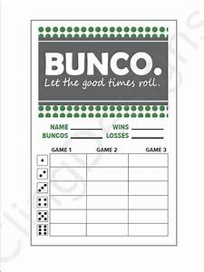 bunco forms related keywords bunco forms long tail With free bunco scorecard template