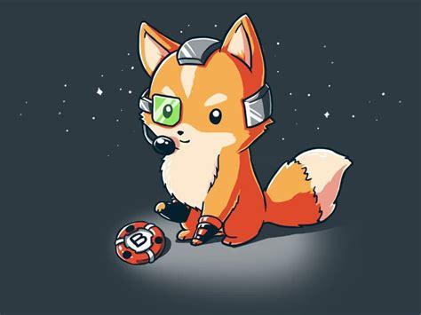 fox mccute funny cute nerdy shirts teeturtle