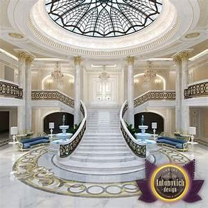 Luxury, Antonovich, Design, Uae, Luxury, Entrance, Interior, From, Katrina, Antonovich