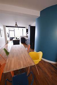 plus de 1000 idees a propos de salles a manger dining With salle À manger contemporaineavec chaises colorees