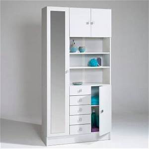 Armoire Salle De Bain : linge dans meuble salle de bain achetez au meilleur prix avec ~ Teatrodelosmanantiales.com Idées de Décoration
