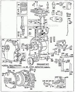Briggs And Stratton 60200 Series Parts List And Diagram