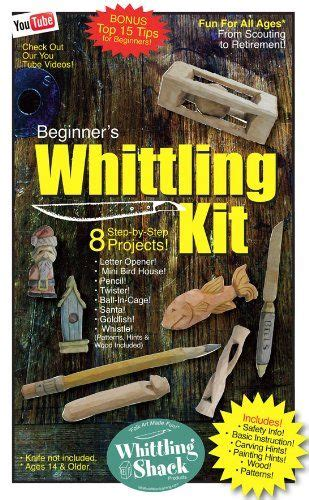 whittling kit  beginners wood carving kit hobby art
