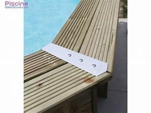 Margelle Pour Piscine : kit finition margelles alu ubbink pour piscine bois ~ Melissatoandfro.com Idées de Décoration