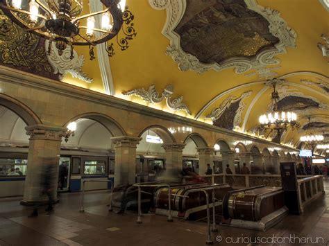 moscow metro part  komsomolskaya kurskaya mayakovskaya