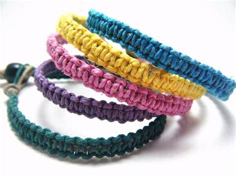 Handmade Hemp Bracelets Ways To Craft With Hemp