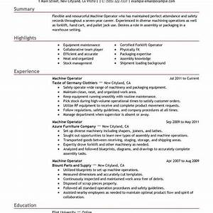best machine operator resume example livecareer intended With plastic injection molding sample resume