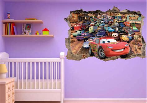 chambre bébé cars impressionnant stickers chambre garçon ravizh com