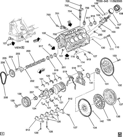 engine asm  part  cylinder block related parts