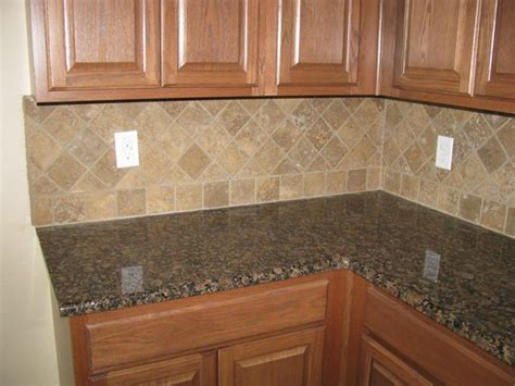 Brown Granite Countertops With Backsplash : 1000+ Images About Kitchen Backsplash On Pinterest