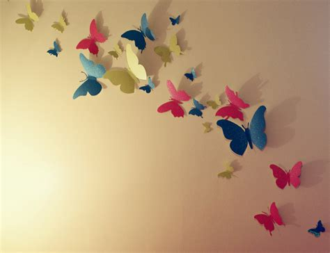 paper butterfly wall decor butterfly wall decor winky crafts