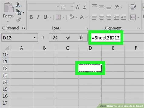 how to link sheets in excel 10 steps with wikihow