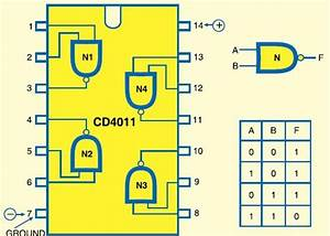 Working Of Cd4011 Ic