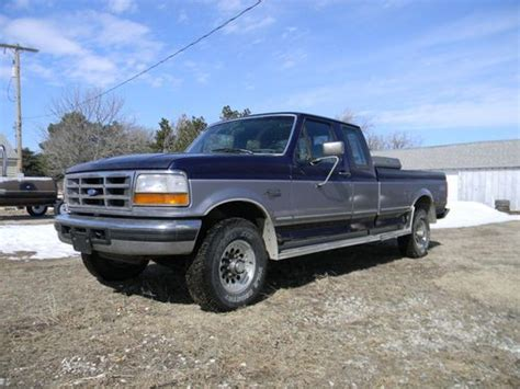Ford F250 Diesel Mpg by 1994 Ford F250 Turbo Diesel Mpg