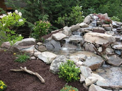 Pond Aquascape by D R Excavating Landscaping Inc Aquascape Ponds And