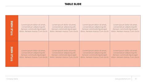 Template Business Deck