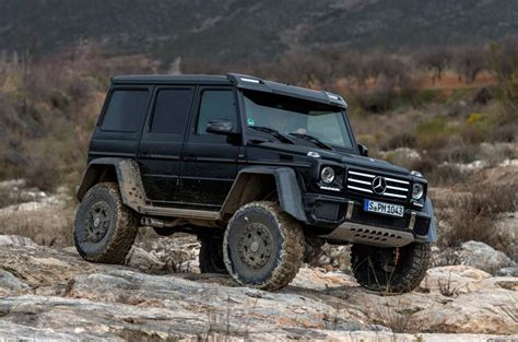 2015 Mercedes-benz G 500 4x4 Squared Review
