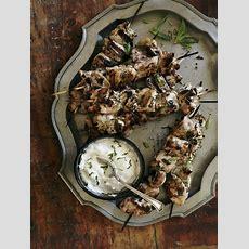 Recette  Kebabs De Poulet Au Babeurre Et à L'ail Maison