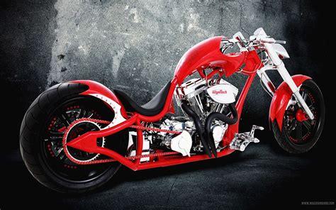 Red Motorcycle Desktop Wallpaper